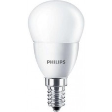 LED izzó, E14, csillár, 5,5W, 470lm, 230V, 2700K, P45, PHILIPS