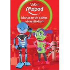 MAPED robotos plakát - A2 méretben