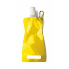 Összehajtható vizeskulacs, sárga