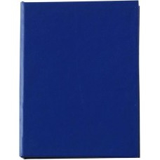 Öntapadó jegyzettömb és jelölők karton borítóval, kék