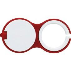 Kulcstartó LED-lámpával, piros