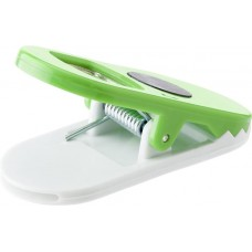 Üvegnyitó mágnessel,  jegyzetcsipesz funkcióval, zöld