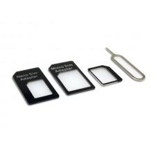 SIM kártya adapter, 4in1, univerzális, SANDBERG