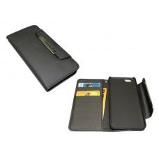 Telefontok, iPhone 6 készülékhez, kinyitható, tárca, SANDBERG, fekete