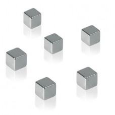 Extra erős kockamágnes, 4+2db SIGEL