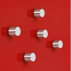 Extra erős henger alakú mágnes, 5 db SIGEL