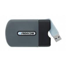 SSD (külső memória), 128GB, USB 3.0, ütésálló, FREECOM
