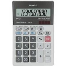 Számológép, asztali, 10 számjegy, SHARP