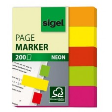 Jelölőcímke, papír, 5x40 lap, 12x50 mm, SIGEL
