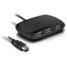 USB elosztó-HUB, 4 port, USB 2.0, passzív, SPEEDLINK