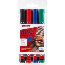 Alkoholos marker készlet, 1-5 mm, vágott, EDDING