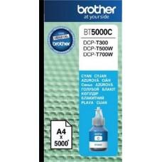 BT5000C Tintapatron DCP T-300, 500W, 700W nyomtatókhoz, BROTHER kék, 5K