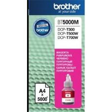 BT5000M Tintapatron DCP T-300, 500W, 700W nyomtatókhoz, BROTHER vörös, 5K