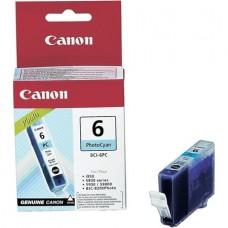 BCI-6PC Fotópatron BJC-8200 Photo, i905d nyomtatókhoz, CANON kék, 13ml