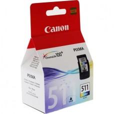 CL-511 Tintapatron Pixma MP240, 260, 480 nyomtatókhoz, CANON, színes, 244 oldal
