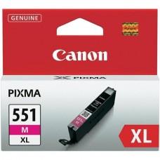 CLI-551MXL Tintapatron Pixma iP7250, MG5450, MG6350 nyomtatókhoz, CANON, magenta, 11ml