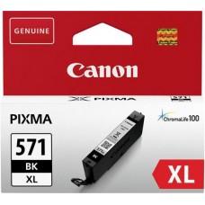 CLI-571XL Tintapatron Pixma MG 5700 Series/6800 Series/7700 Series nyomtatókhoz, CANON, fekete, 11 ml