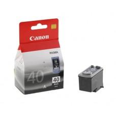 PG-40 Tintapatron Pixma iP1300, 1600, 1700 nyomtatókhoz, CANON, fekete, 16ml