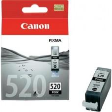 PGI-520B Tintapatron Pixma iP3600, 4600, MP540 nyomtatókhoz, CANON, fekete, 19ml