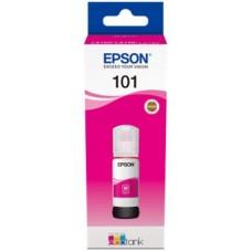 T03V3 Tintapatron Ecotank L6190 nyomtatóhoz, EPSON vörös, 70ml