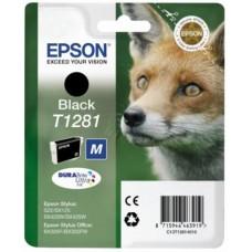 T12814011 Tintapatron Stylus S22, SX125, SX420W nyomtatókhoz, EPSON, fekete, 5,9ml