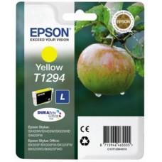 T12944012 Tintapatron Stylus SX420W, SX425W, SX525WD nyomtatókhoz, EPSON, sárga, 7ml