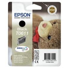 T06114010 Tintapatron Stylus D68, D88, D88PE nyomtatókhoz, EPSON fekete, 8ml