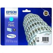 T79024010 Tintapatron WorkForce Pro WF-5620DWF nyomtatóhoz, EPSON, cián, 17,1ml