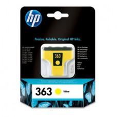 C8773EE Tintapatron Photosmart 3210, 3310, D7460 nyomtatókhoz, HP 363 sárga, 6ml