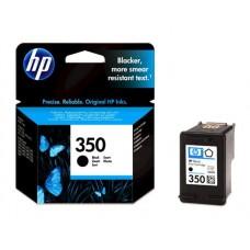 CB335EE Tintapatron DeskJet D4260, OfficeJet J5780 nyomtatókhoz, HP 350, fekete, 4,5ml
