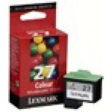 10NX227E Tintapatron X72, 74, 75 nyomtatókhoz, LEXMARK 27 színes, 229 oldal