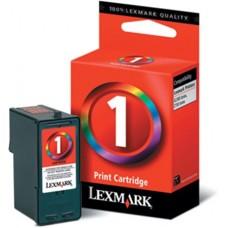 18CX781 Tintapatron X2300 sorozat nyomtatóhoz, LEXMARK 1 színes, 130 oldal