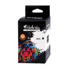 CC641EE Tintapatron DeskJet D2560, F4224 nyomtatókhoz, VICTORIA 300XL fekete, 600 oldal