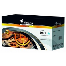 Q6001A Lézertoner ColorLaserJet 2600, 2600N, 2605 nyomtatókhoz, VICTORIA 124A kék, 2k