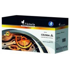 CE250A Lézertoner ColorLaserJet CM3530, CP3525 nyomtatókhoz, VICTORIA 504A, fekete, 5k