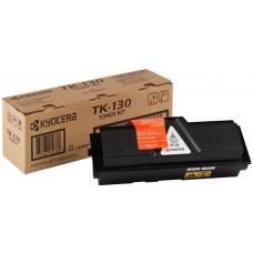 TK130 Lézertoner FS 1028DP MFP, 1300D nyomtatóhoz, KYOCERA fekete, 7,2k