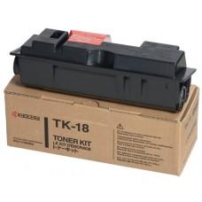 TK18 Lézertoner FS 1020, 1118MFP nyomtatókhoz, KYOCERA fekete, 7,2k