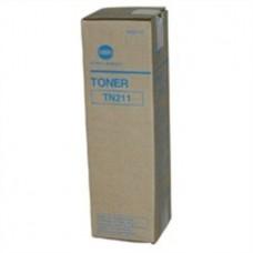 TN211 Fénymásolótoner Bizhub 200, 250 fénymásolókhoz, KONICA-MINOLTA fekete