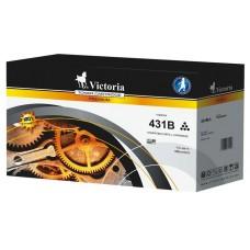 44917602 Lézertoner B431, MB491 nyomtatókhoz, VICTORIA, fekete, 12k
