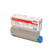 43381907 Lézertoner C5600, 5700 nyomtatókhoz, OKI kék, 2k