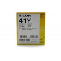405764 Gélpatron SG 3100SNw, SG 7100DN nyomtatókhoz, RICOH Type GC41Y sárga, 2,2K