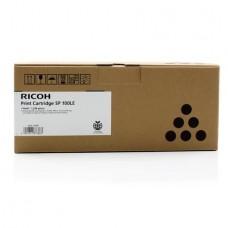 407166 Lézertoner SP 100e, SP 112 nyomtatókhoz, RICOH, fekete, 1,2k