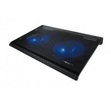 Notebook állvány, ventilátorral, USB, TRUST
