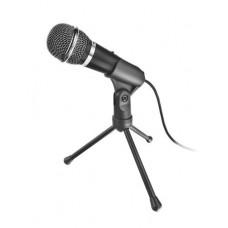 Mikrofon, asztali, 3,5 mm jack, TRUST