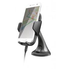 Autós telefontartó, vezeték nélküli töltővel, Qi szabvány, TRUST