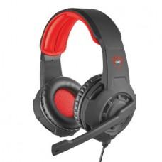 Fejhallgató, mikrofonnal, vezetékes, gaming, 3,5 jack, TRUST