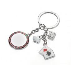 Kulcstartó, 4 charm dísszel, TROIKA