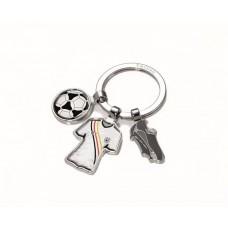 Kulcstartó, 3 charm dísszel, TROIKA