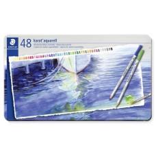 Akvarell ceruza készlet, fém doboz, STAEDTLER