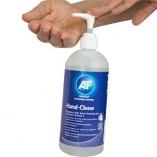 Kéztisztító gél, 500 ml, AF